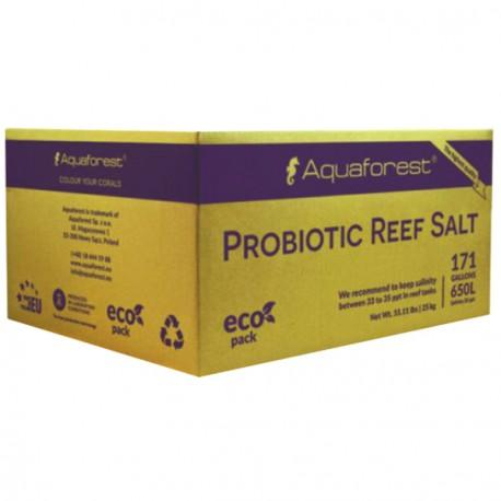 Aquaforest Probiotic Reef Salt Box 25 Kg