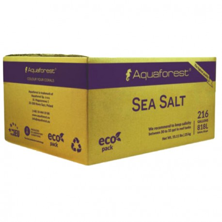 Aquaforest Sea Salt Box 25 Kg