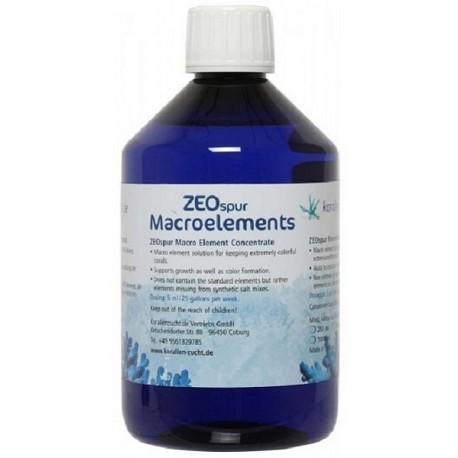 Korallen Zuch ZEOspur Macroelements
